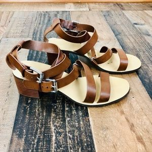 Forever 21 Strap Sandals with a block heel